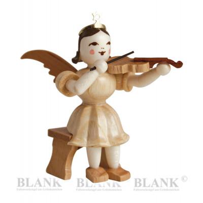 Kurzrockengel mit Violine sitzend