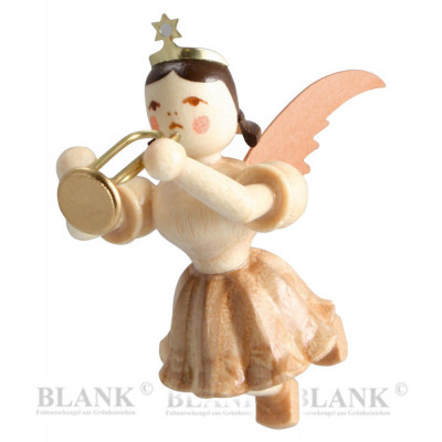Engel schwebend mit Trompete