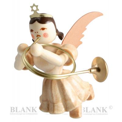 Engel schwebend mit Althorn