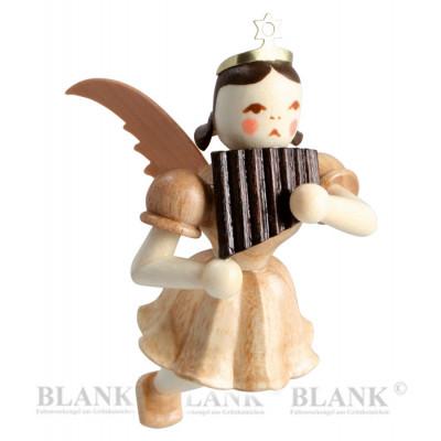 Engel schwebend mit Panflöte