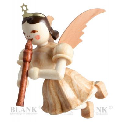 Engel schwebend mit Blockflöte