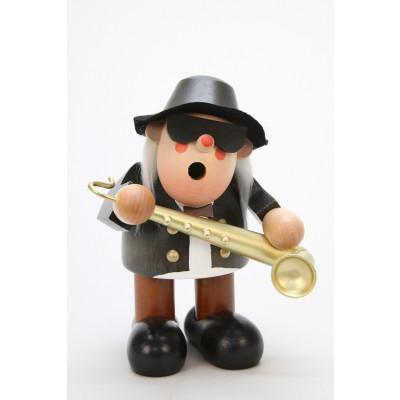 Räuchermännchen Saxophonspieler