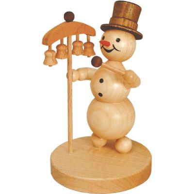 Schneemannmusikant Glockenspiel