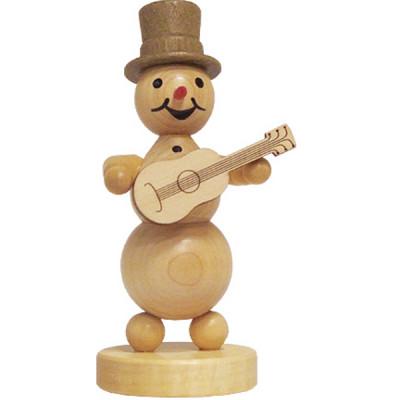 Schneemannmusikant Gitarre