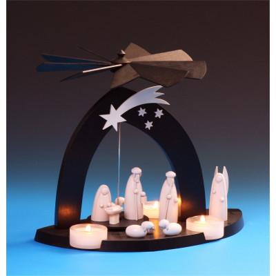 Black Pyramide Christgeburt mit Hirte