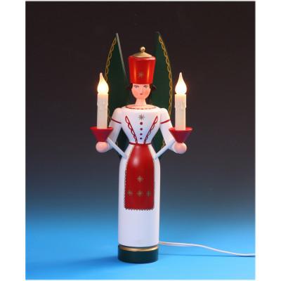 Lichterengel farbig, 36 cm, elektrisch