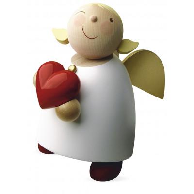 Schutzengel mit Herz, groß