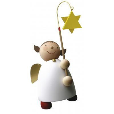 Schutzengel mit Stern am Stab, groß