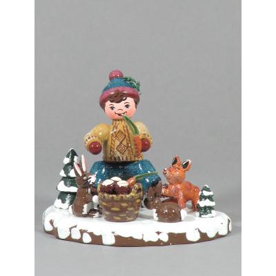 Winterkinder Tiere des Waldes