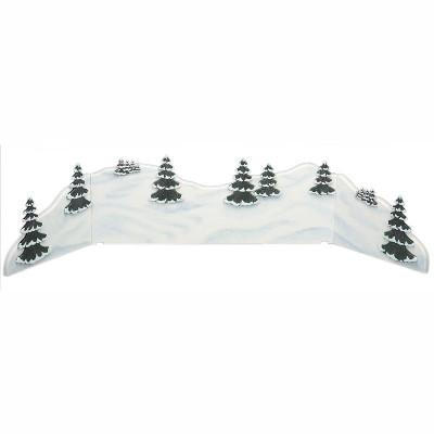 Winterkinder Winterlandschaft - Diorama