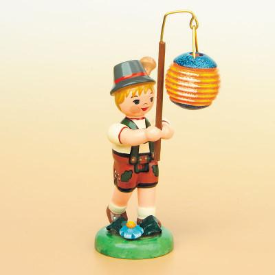 Lampionkind Junge mit Kugellampion
