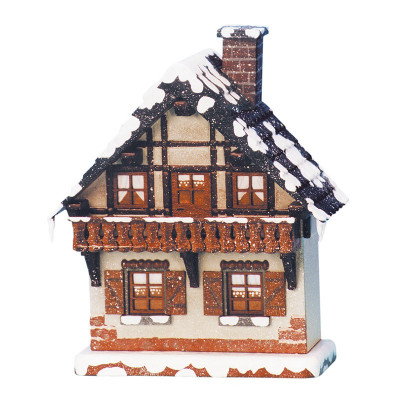 Winterkinder Winterhaus Balkon