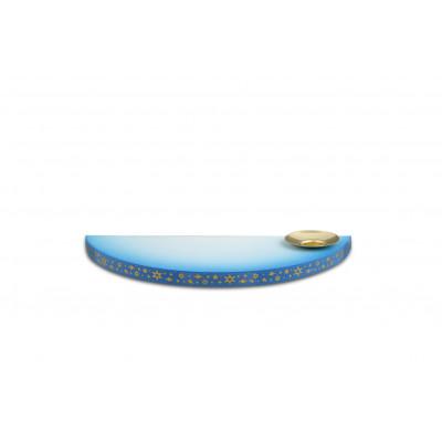 Wolke blau weiß mit Tülle