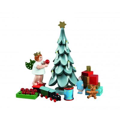 Zubehör Weihnachtsbaum 6-teilig