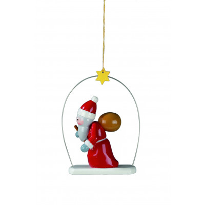 Baumbehang Weihnachtsmann im Ring