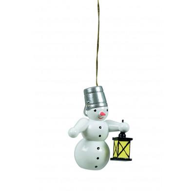 Baumbehang Schneemann mit Lampe