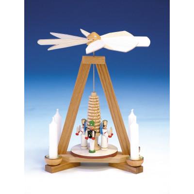 Pyramide mit Bergmann und Engel