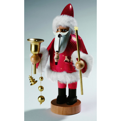 Räuchermännchen Santa Claus rot, groß
