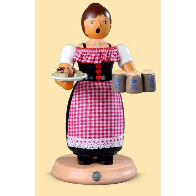 Müller Räuchermännchen Oktoberfest Kellnerin