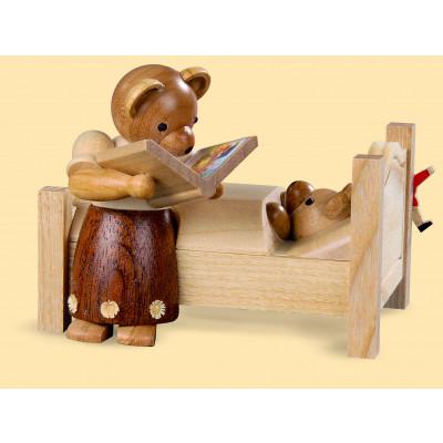 Bärenmutter erzählt Gute-Nacht-Geschichten