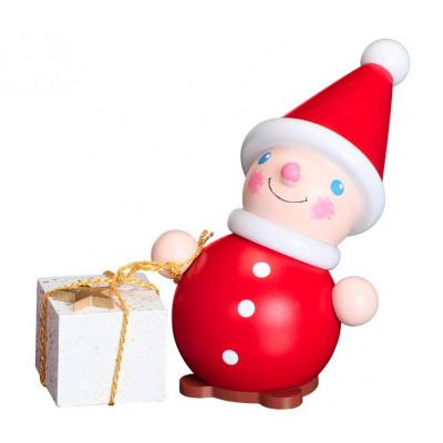 Wichtel mit Geschenk