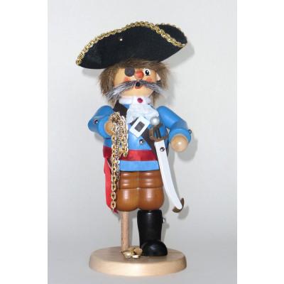 Räuchermann Pirat Holzbein