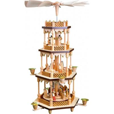 Pyramide Christi Geburt 3-stöckig