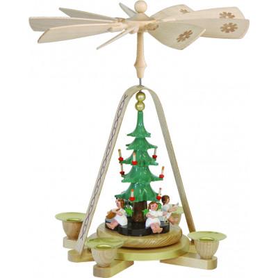 Pyramide Engel mit Christbaum