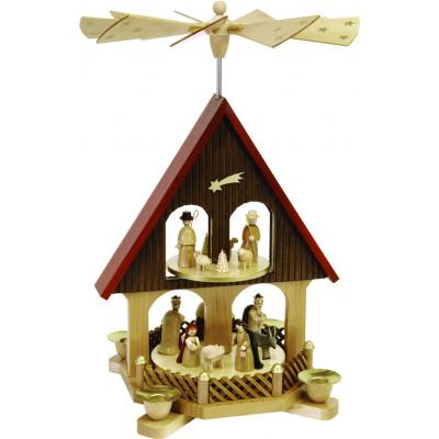 Pyramidenhaus 2-stöckig Christi Geburt