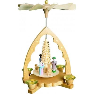 Pyramide mit Geburt Christi