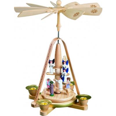 Pyramide Engeltreppe mit Christi Geburt
