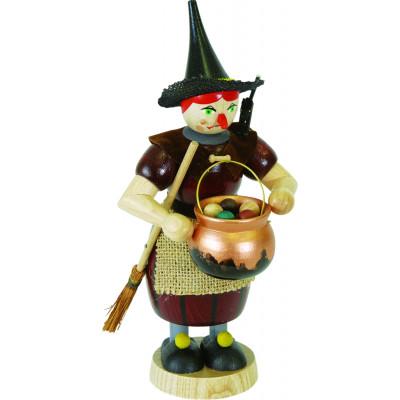 Räucherfrau Hexe