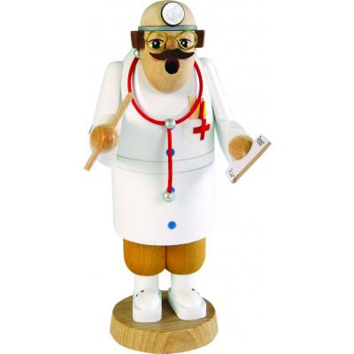 Räuchermännchen Arzt Figur