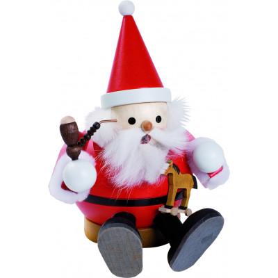 Kugelrauchmann Weihnachtsmann, sitzend