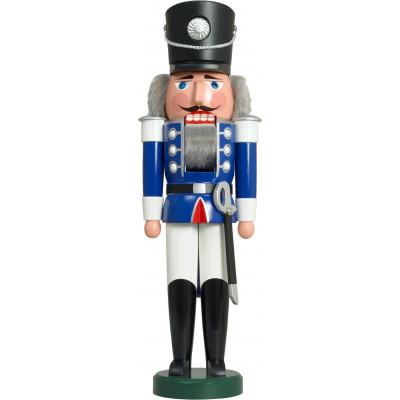 Nussknacker Husar blaue Uniform