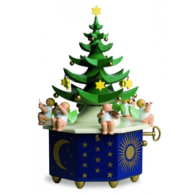 Spieldose Tannenbaum Stille Nacht