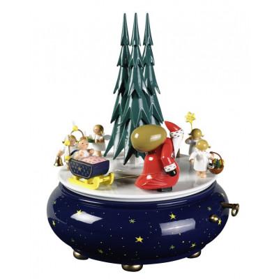 Spieldose Weihnachtszug Oh du fröhliche