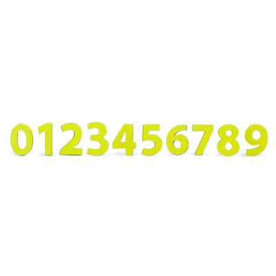Zahlensatz 0 - 9