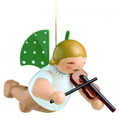 Engel mit Geige schwebend