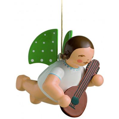 Engel mit Mandoline schwebend