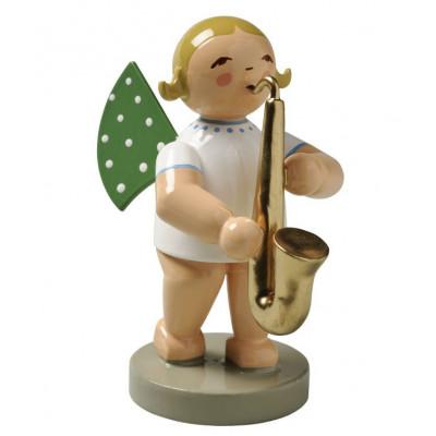 Engel mit Saxophon