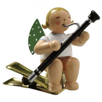 Engel mit Fagott auf Klemme