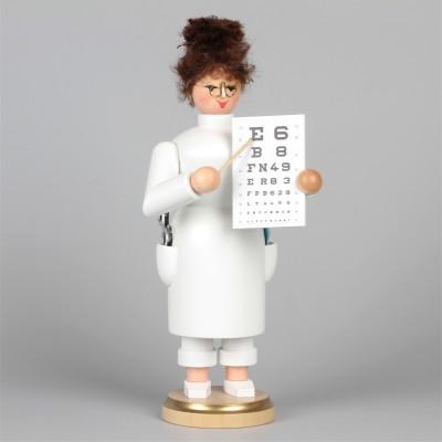 Räucherfrau Augenärztin