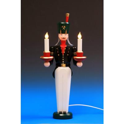 Lichterbergmann farbig, 49 cm, elektrisch