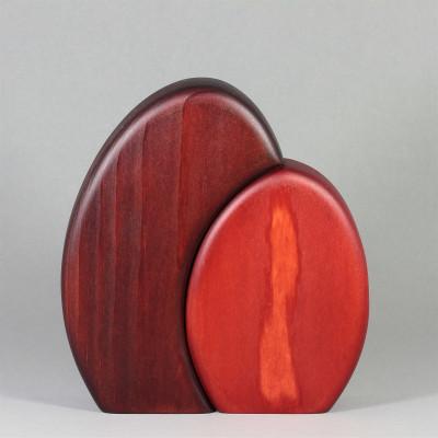 Busch, 2-teilig, rot, klein