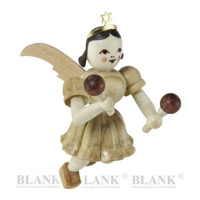 Engel schwebend mit Rumbakugeln