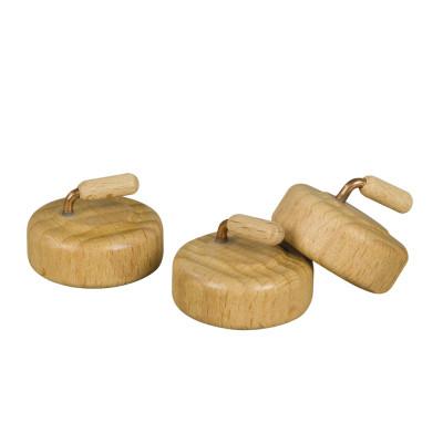 Curlingsteine, 3-teilig