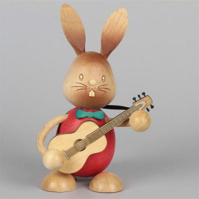Hase Stupsi mit Gitarre