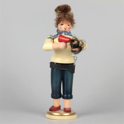 Räucherfrau Friseurin