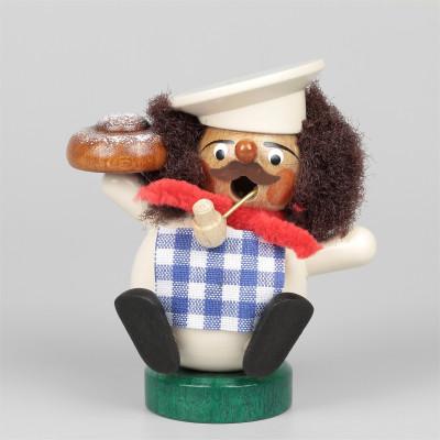Mini-Räuchermann Bäcker
